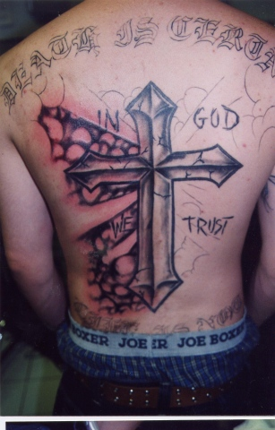 cross work in progress tattoo by tatupaul