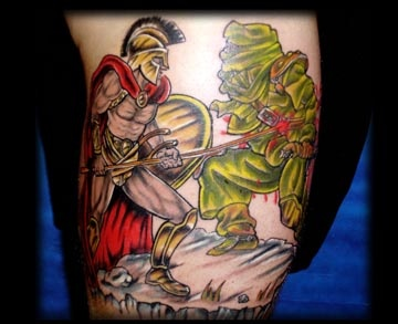 300 the movie tattoo by tatupaul