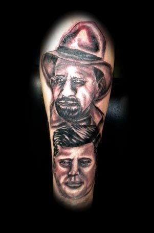 portrait tattoo by tatupaul.com