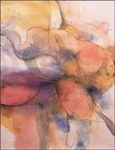 watercolor, abstract, contemporary_art, colorful, nature, fluid, energy, softness, nature