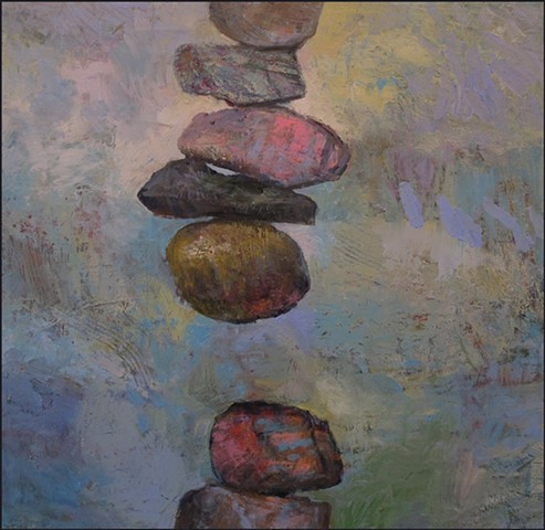 stones, abstract, rocks, cairn, stack, paradox, whimsical, figurative, texture