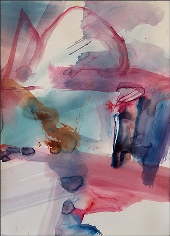 watercolor, abstract, contemporary_art, colorful, nature, fluid, energy, bold