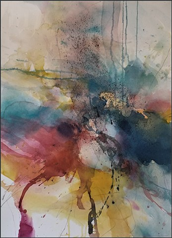 watercolor, abstract, contemporary_art, colorful, nature, fluid, energy