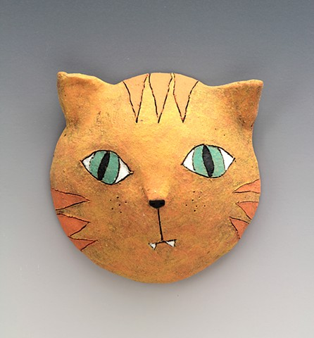 Big-eyed Cat mask