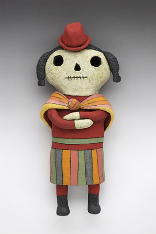 Day of the Dead Peruvian Wally