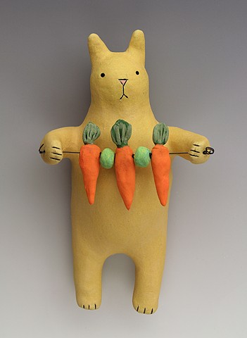 Rabbit Wally with Carrots