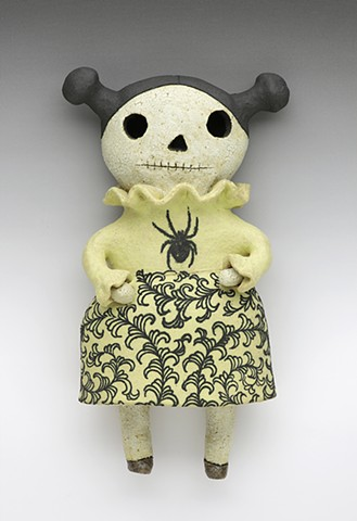 Day of the Dead Spider Dress Wally