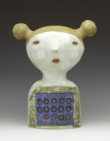 clay ceramic sculpture figure penny by sara swink