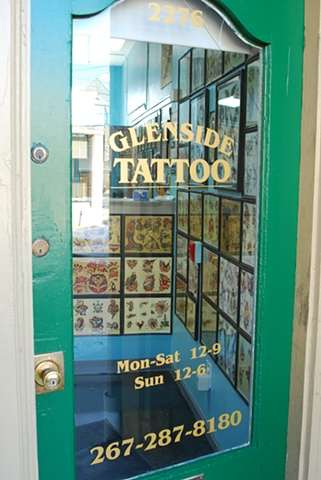 Glenside Tattoo Front Door