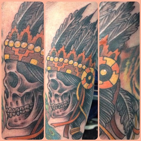 skull/headdress