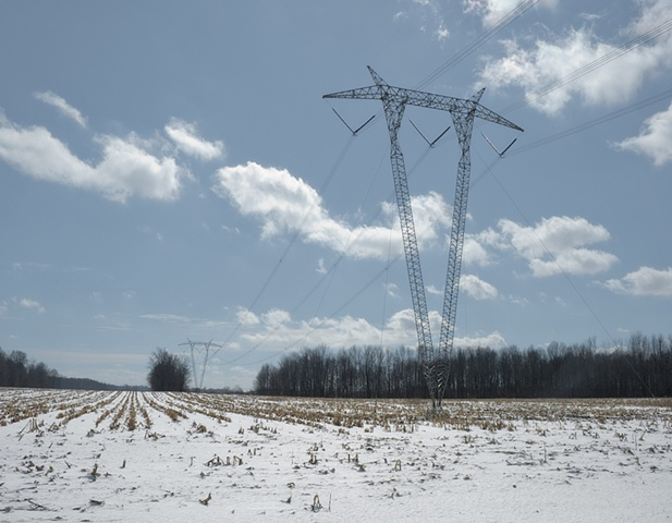 indiana power lines: march