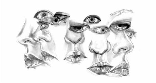 portrait, graphite, mylar, lips, noses, beautiful, girl, motion, drunk, trippy, denver, realism, surreal, surrealism, black and white