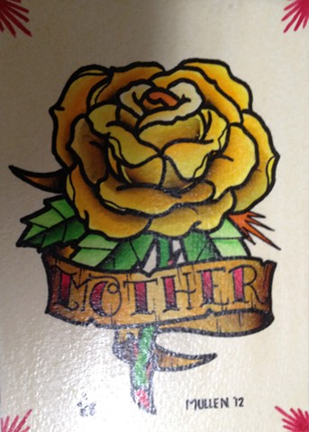 Art Freek Tattoo - Mother Yellow Rose