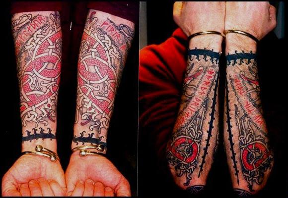 viking tattoo sleeves steven williamson tattoo artist providence rhode island (ri)