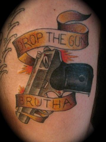 Lost tattoo gun color Providence Rhode Island RI