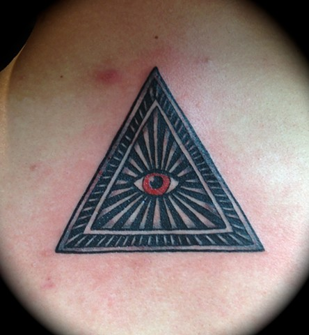 Providence, Prov, RI, Rhode Island, New England, Mass, Art Freek Tattoo, Good Tattoos, All Seeing eye