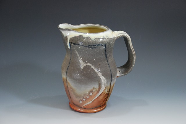 Pitcher Soda-fired