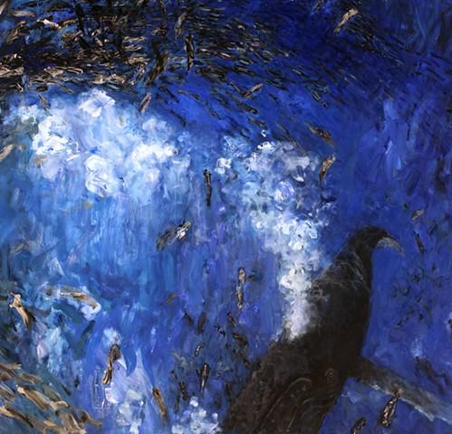 Bubblenet Panic_ detail Humpback Whale
