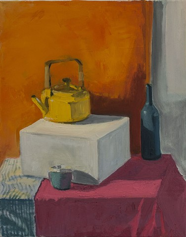 "Student Work 2 Class: Introduction to Painting Assignment: Observational Local Color 24"" x 18"" Oil on Canvas"
