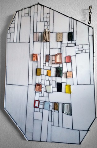 Kate Jessup mosaic wall hanging