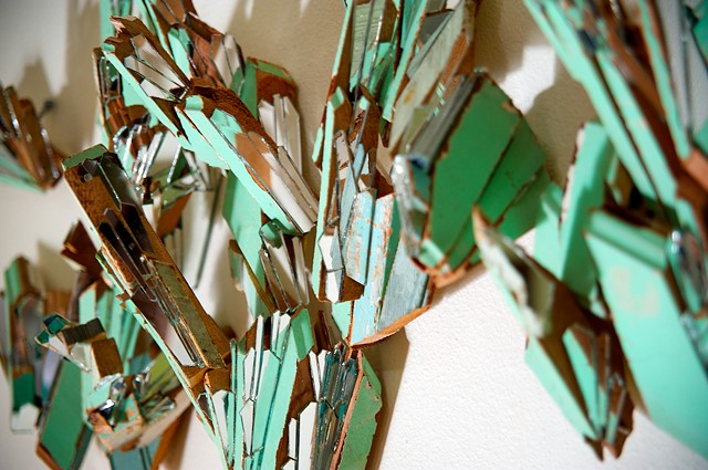 Kate Jessup, mosaic, art, Saltwater Frost