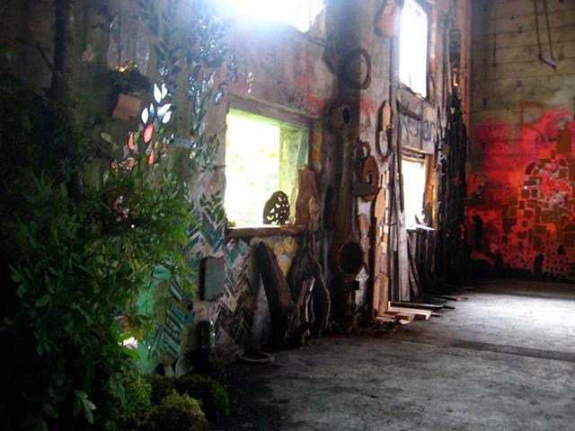 Kate Jessup mosaic art installation