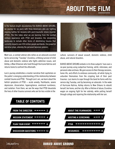 Buried Above Ground Toolkit - Sample Page 2