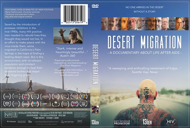Desert Migration DVD Case