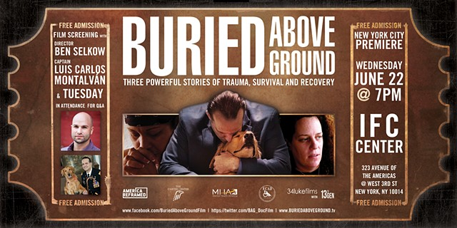 Buried Above Ground - Eventbrite Banner