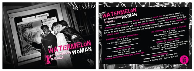 The Watermelon Woman - Berlinale postcard 4x6