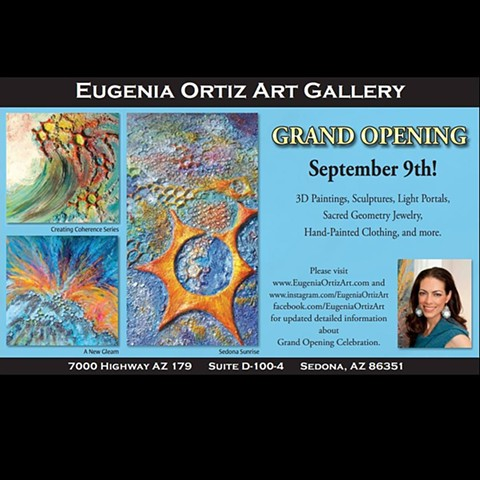~~~GRAND OPENING ART GALLERY SEPT 9th EUGENIA ORTIZ ART~~~