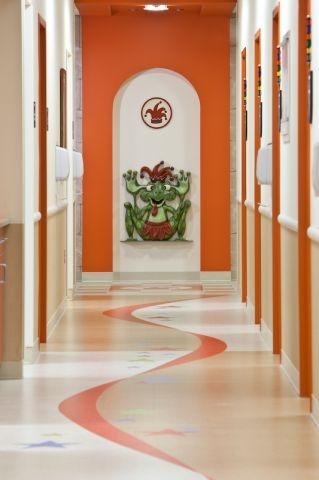 Sanford Children's Hospital - Clinic Corridor
