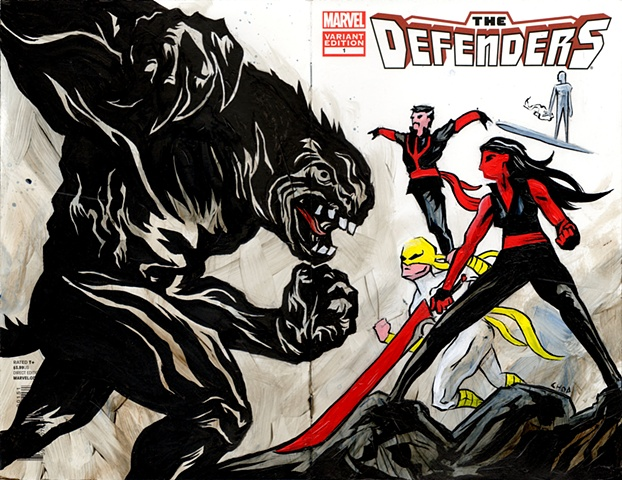The Defenders Cover
