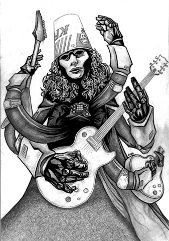 Buckethead: Pencils