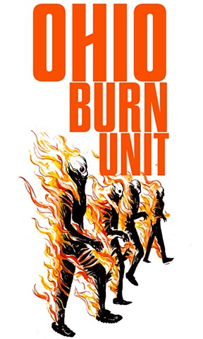 Ohio Burn Unit T-Shirt Design #4