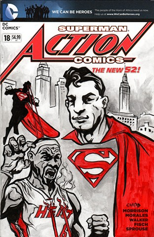 Action Comics #18 Sketch Cover