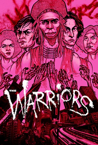 warriors chod chodartist alternative movie poster