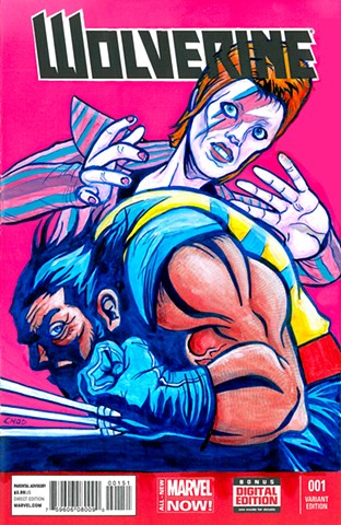 Wolverine #1 Wolvie and Bowie