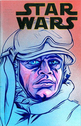 Star Wars #1 'Luke' Sketch Cover