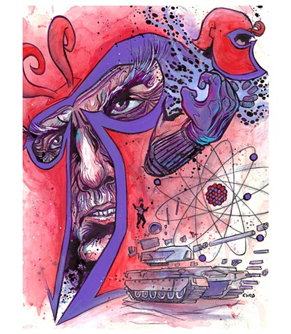 """Master of Magnetism"" Print"