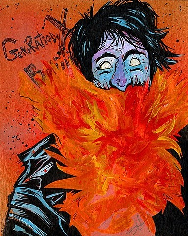 """Burnin' For You"" Print"