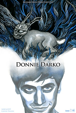 Donnie Darko poster art CHOD