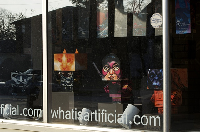 Ramifications Window Display