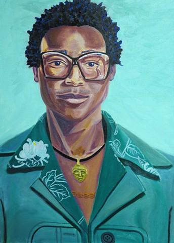 Self-Portrait of the Artist Kwadwo Adae