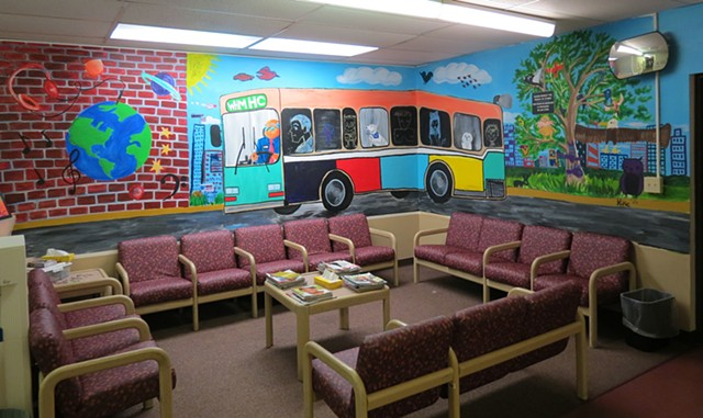 The City Bus Mural Project