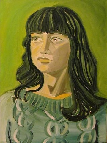 Portrait of the Green Bridget Holmes