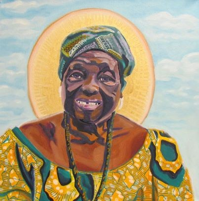 Portrait of My Beloved Grandmother Akosua Bemah Kumi