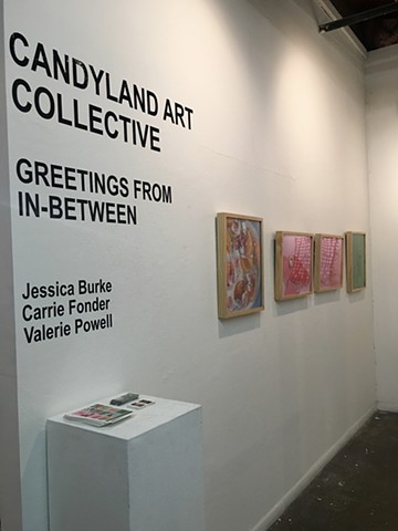 Candyland Art Collective, solo exhibition at 500x Gallery in Dallas, TX. May 2017
