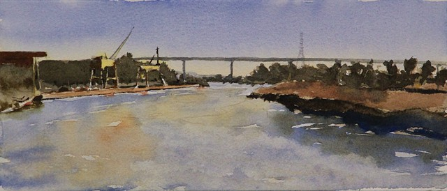 Outdoor Sketch for Napa River