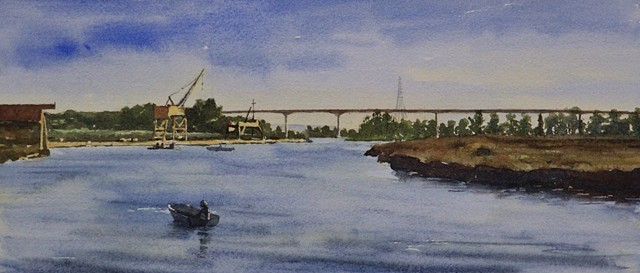 Sketch for Napa River